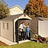 Lifetime 8x10 Plastic Shed Special Edition With Trim