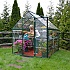 Palram 6x8 Green Polycarbonate Greenhouse