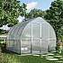 Palram Bella 8x8 Bell Shaped Polycarbonate Greenhouse