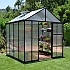 Palram 8x8 Glory Polycarbonate Greenhouse with Low Threshold Entry