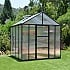 Palram Glory 8x8 Polycarbonate Greenhouse with Sliding Door