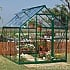 Palram Harmony 6 x 8 Green Greenhouse with Clear Polycarbonate Glazing