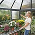 Palram Oasis Hexagonal Greenhouse Heavy Duty Staging