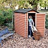 Palram 4 x 6 Plastic Skylight Shed Store