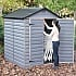Palram 6x5 Plastic Skylight Grey Shed Garden Furniture Store