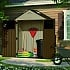Suncast 6x3 Everett Five Plastic Shed with Wide Doors