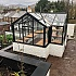 Swallow Cygnet 6x11 Greenhouse in Black