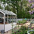 Swallow Jay 6x10 Potting Shed in Cloud Grey Kitchen Garden