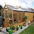 Swallow Kingfisher Combi Greenhouse 6x 6 with 8ft Shed Extension