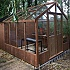 Swallow Raven 8x8 Greenhouse with Combi Shed