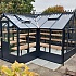 Swallow Mallard 8x15 Wooden Greenhouse with 4ft Porch