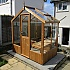 Swallow Kingfisher 6x4 Thermowood Greenhouse