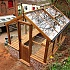 Swallow Kingfisher 6x8 Wooden Dwarf Wall Greenhouse