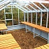 Swallow Mallard 8x15 Robins Egg Blue Greenhouse Staging