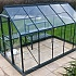 6x10 Vitavia Venus Green Greenhouse with Staging