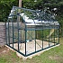 8x10 Vitavia Saturn Green Greenhouse Toughened Glazing