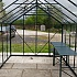 8x14 Vitavia Phoenix Green Greenhouse Toughened Glazing Interior