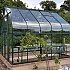 Green 8x10 Vitavia Saturn Greenhouse with Staging