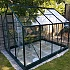 Green 8x6 Vitavia Venus Greenhouse with Toughened Glass