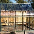 Vitavia 8x10 Saturn Greenhouse with Guttering