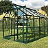 Vitavia Apollo 5000 6x8 Green Greenhouse with Toughened Glass