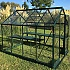 Vitavia Apollo 6x8 Green Greenhouse with Folding Staging
