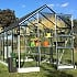 Vitavia Apollo 6x8 Greenhouse in Anodised Aluminium Finish