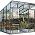 Vitavia Freya 8x8 Greenhouse in Grey Powder Coating