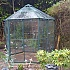 Vitavia Hera 4500 Green Hexagonal Greenhouse