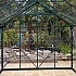 Vitavia Jupiter Green 8x14 Greenhouse with Horticultural Glazing