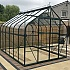 Vitavia Saturn 8x12 Greenhouse in Powder Coated Green