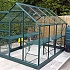 Vitavia Venus Green 8x6 Greenhouse with Additional Staging and Water Butt