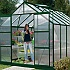 Vitavia Jupiter 8x10 Greenhouse in Powder Coated Green