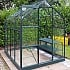 Vitavia Orion 6x8 Green Greenhouse with Toughened Glass