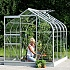 Vitavia Orion Silver 8x6 Greenhouse With Toughened Glazing