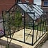 Vitavia Saturn 8x10 Greenhouse in Green Powdercoating