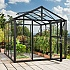 Vitavia Zeus 8x10 Greenhouse - Float Glazing in Black