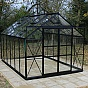 Eden Viscount Black Greenhouse