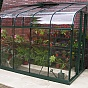 Halls Silverline 6x12 Green Lean to Greenhouse