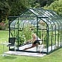 Vitavia Saturn Green 8x14 Greenhouse With Toughened Glazing